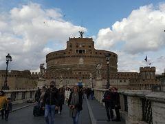 13時10分、サンタンジェロ城に到着しました。