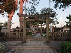 日吉神社の境内