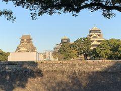 天草五橋を渡って熊本に行き、熊本城に。
