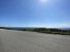 ようやく久部良集落を出ることに。 初日はささーっと自転車で通過するだけだった南牧場を、今度はゆっくりと眺めながら行くことにしました。 自転車を押しながら。