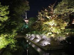 京都駅に戻り、東寺に向かうべくGoogleマップさんに任せて歩いていたところ、北側の門に連れて行かれ、開いている門を探すのに一苦労。 ライトアップ期間は東門からの入場で、戻って手前の大宮通りを南下すればよかったものを、先に進んでしまったため、めでたく東寺の周りを一周させていただきました。