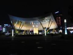 中央公園駅の夜景