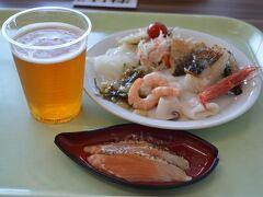 海鮮バイキング、福井名物の焼き鯖寿司は美味しかったです☆