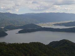 左から水月湖(汽水・1番大きい)、菅湖(汽水・渡り鳥が飛来する)、三方湖(淡水・天然うなぎで有名)