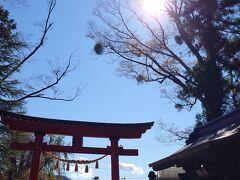 暫し進むと、またもや浅間神社 ここは小室浅間神社  気の良い、落ち着いた神社でした