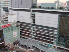眺望は横浜駅の西口。
