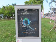 世運主場館生態園区の案内マップ