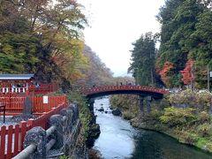 有名な神橋です☆ 世界遺産登録、国重要文化財ですって(;^ω^)