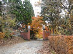 道の駅猪苗代で昼食休憩のあと、猪苗代湖畔をドライブしつつ向かった先は天鏡閣。