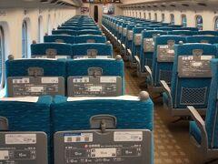 今回、それぞれ大阪、兵庫、福井から米原集合にて車で移動のスケ。 ガラガラのこだまに新大阪から乗車。