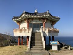韓国展望所 観光バスがいなくなったら、閑散としてました。。。