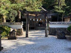 続いては、烏帽子岳を下ったところにある和多都美神社へ。