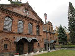 登別から高速を使って札幌へ。 さーっぽろビール博物館の赤レンガ。