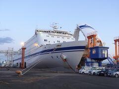 皆様、こんにちは。 愛知県名古屋から航海距離約770km/21時間20分のクルーズを終えて、宮城県仙台港に到着しました。