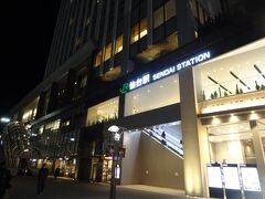 18:35 Akr様と再合流する為、仙台駅へ。 ホテルから徒歩10分弱です。