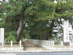 法隆寺にやってきましたが、先に藤ノ木古墳を見てきます。