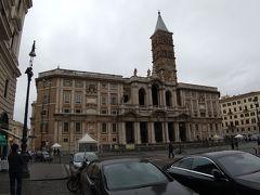 13時35分、帰りがけにサンタマリア・マッジョーレ大聖堂に寄りました。
