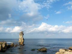 掛戸松島が一瞬見える。