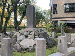 西郷隆盛誕生の地碑