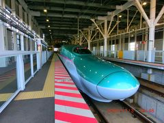 再び北海道新幹線「はやぶさ」に乗って盛岡を目指します。