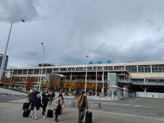 11:11 新潟駅到着