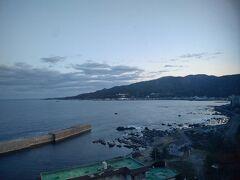 6:00 今日は凪いでますね♪