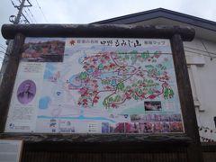 途中、城ケ倉大橋を通過し,中野もみじ山へは15:38ごろに到着しました。