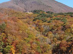 磐梯山展望所から。 磐梯山、威風堂々ですね!