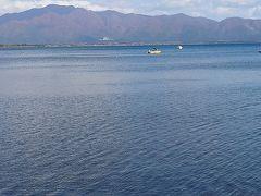 猪苗代湖を回って、帰路につきます。