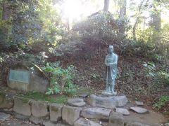 松尾芭蕉の像?