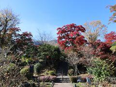 急な上り坂を歩いて5分。箱根強羅公園です。