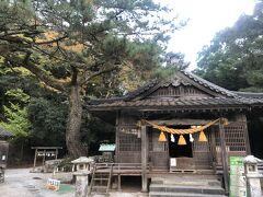 和多都美神社本殿。