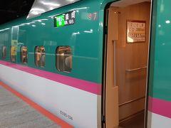 東京駅20:20発「やまびこ69号」に乗り込みます。