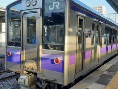 一ノ関駅から2駅(7分)で平泉駅に到着です。