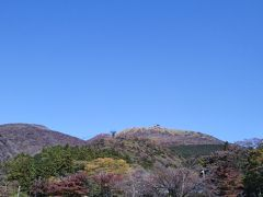 箱根園から駒ヶ岳へ。