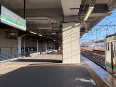 小山駅へ。