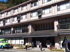 平家屋敷から5分ほどのこちらのホテルで昼食の時間です。