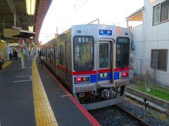 自宅から京成線で京成高砂駅で金町線に乗換して終点の京成金町に到着。 ここまで1時間ちょっと。
