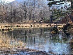 泉門池は絶好の休憩スポット