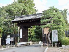 同じ最寄駅にある泉涌寺にも行ってみました。