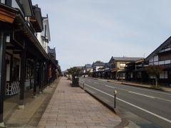 塩沢宿では当時の宿場町、雪国特有の雁木の町並みの風情が 再現されていました。