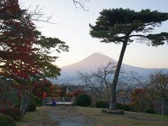 公園内には絶景富士見台が設置されており美しい富士山をみることができます。