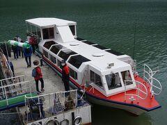 黒部湖遊覧船ガルベ