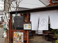 まだ食べるか…ということでやってきたのはNAMAモンブラン cafeエリゼヒカルさん。横浜で人気のプリン店がモンブランを使用したプリンで小布施に出店です。