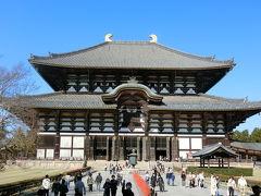 拝観料600円を払って中へ♪いよいよ奈良の大仏様とご対面です。