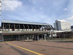 ー1日目  高知空港から高知駅まではバスで向かいます。 740円でした。