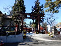 仙台城本丸にある護国神社、七五三参りの家族が微笑ましかったです。