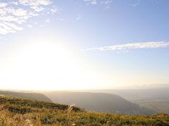 大観峰から阿蘇盆地を見る。すっかり秋めいてました!