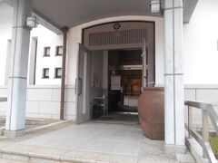 そして 資料館  この入り口が開いているのを見るのは  いつ以来でしょう 来たのは開いてない時ばかりでした