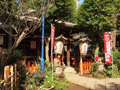 花園稲荷神社 社殿(上野公園4) 五條天神社と隣接していますが、五條天神社が移転してくる以前からこの地にあった神社だそうです。